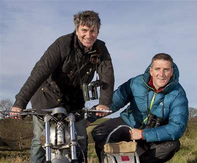 Wildlife Road Trip with Martin Hughes-Games & Iolo Williams