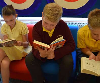 TTDA - Suffolk Libraries - Children Reading