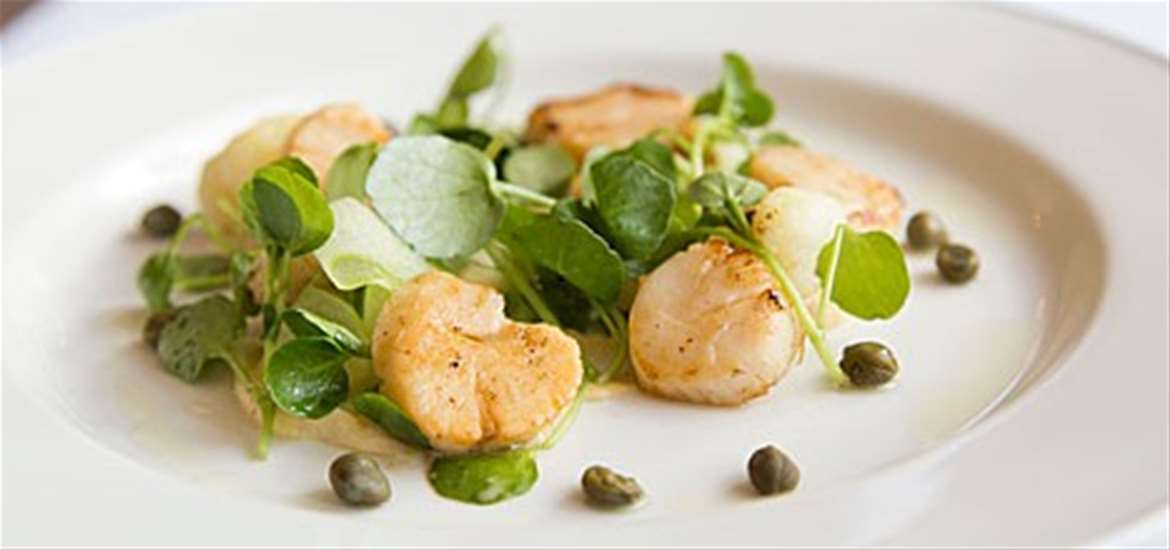 The Swan Hotel - Scallops - Places to Eat