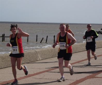 Run, swim and cycle - triathlon training on The Suffolk Coast