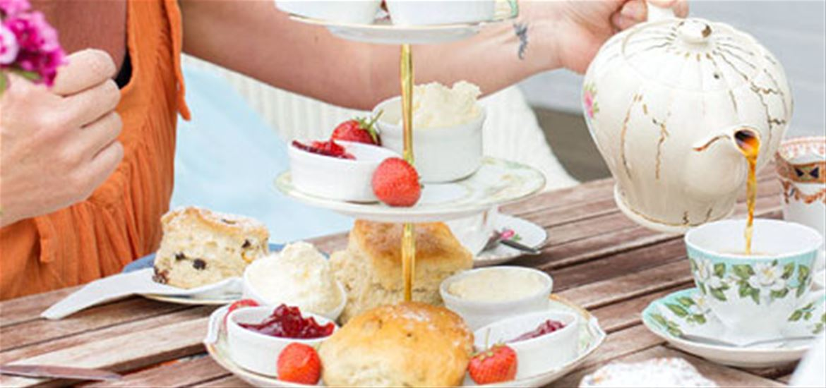 Southwold Boating Lake and Tea Room- Cream Teas
