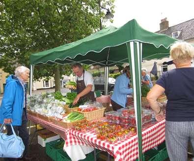 Wickham Market's Summer Street Market