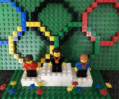 Fantastic Olympic Brick Trail