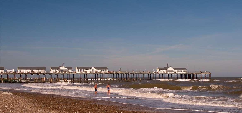 TTDA - Southwold Beach - beach and pier