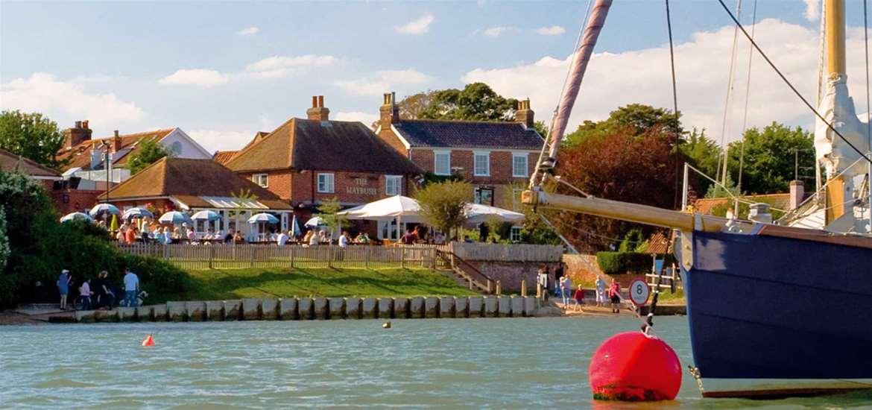 The Maybush - Riverside Dining in Waldringfield Suffolk