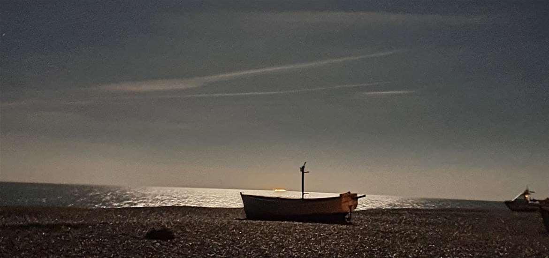 WTS - The Mill Inn - boat on beach