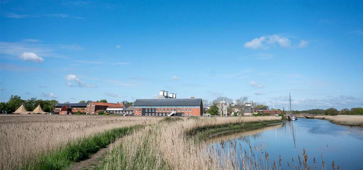 Snape Maltings & the River Ade