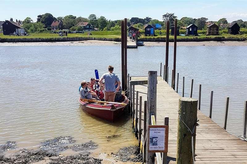 Towns & Villages - Walberswick - ferry (c) Jane Calverley