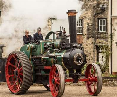 Steam Up at The..