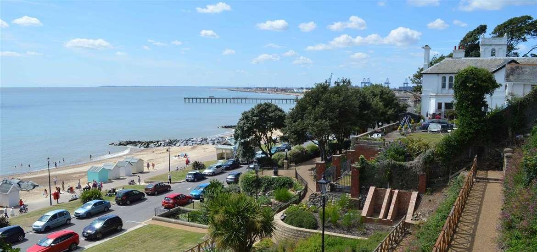 TTDA - Visit Felixstowe - Seafront Gardens