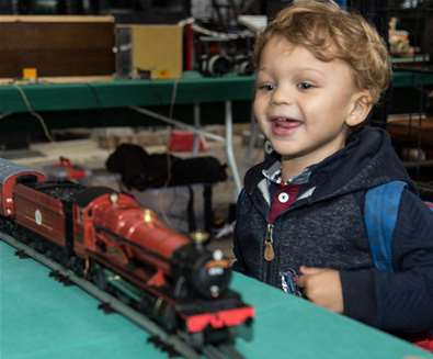 Father's Day Model Railway..