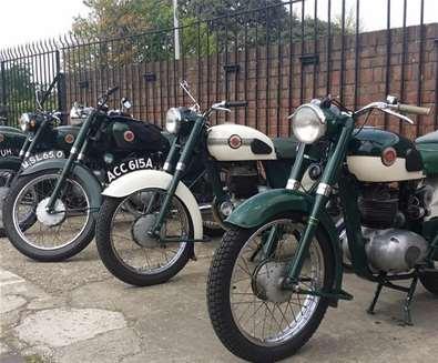 Motorbike Show at Long Shop Museum