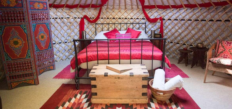 WTS - Kenton Hall Estate - Yurt Interior