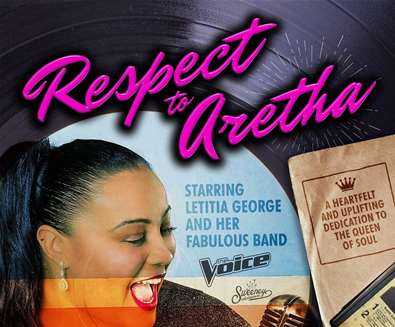 Respect to Aretha at..