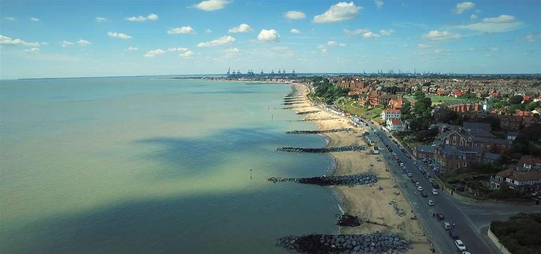 Felixstowe on the Suffolk coast