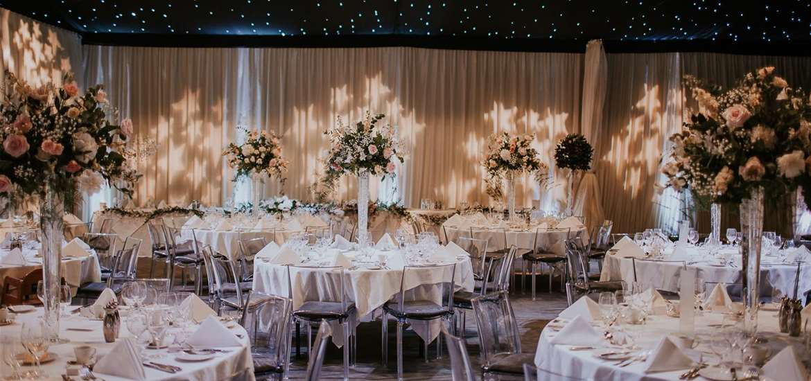 Weddings - Milsoms Kesgrave Hall - Reception Tables