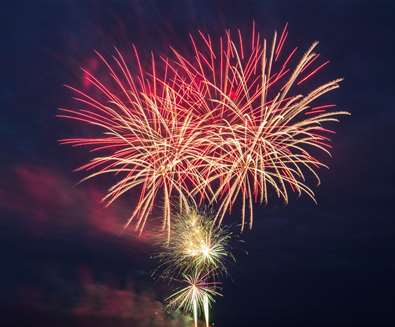 Heveningham Hall Fireworks