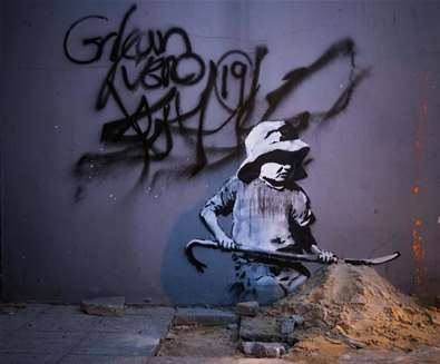 Banksy's 'Spraycation' on The Suffolk Coast