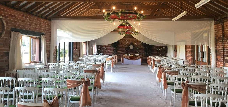 Weddings - Wantisden Park - Barn