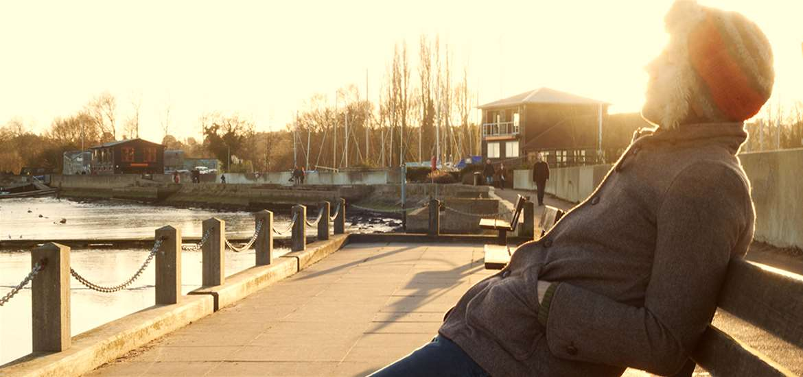 Relaxing at Woodbridge Quay -(c) Emily Fae Photography