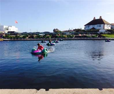 TTDA - Southwold Boating Lake - Pedalos