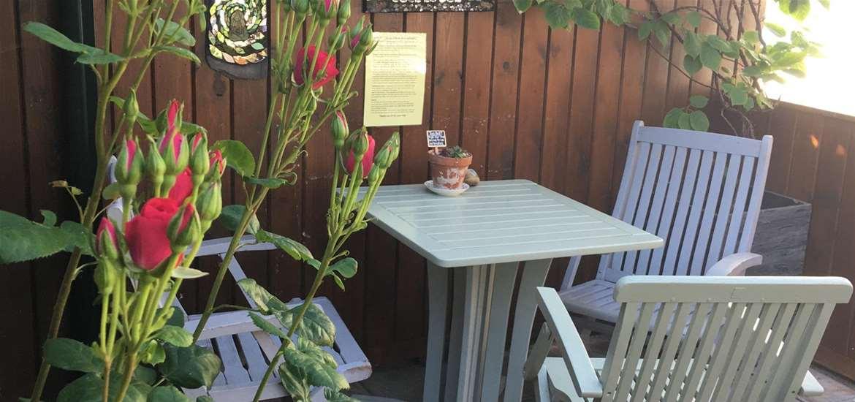 FD - Earsham Street Cafe - Courtyard garden