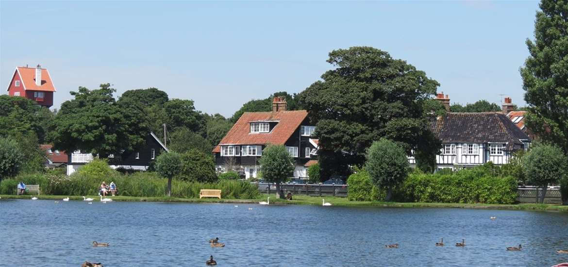WTS - 9 The Whinlands - Thorpeness Meare & The House in the Clouds