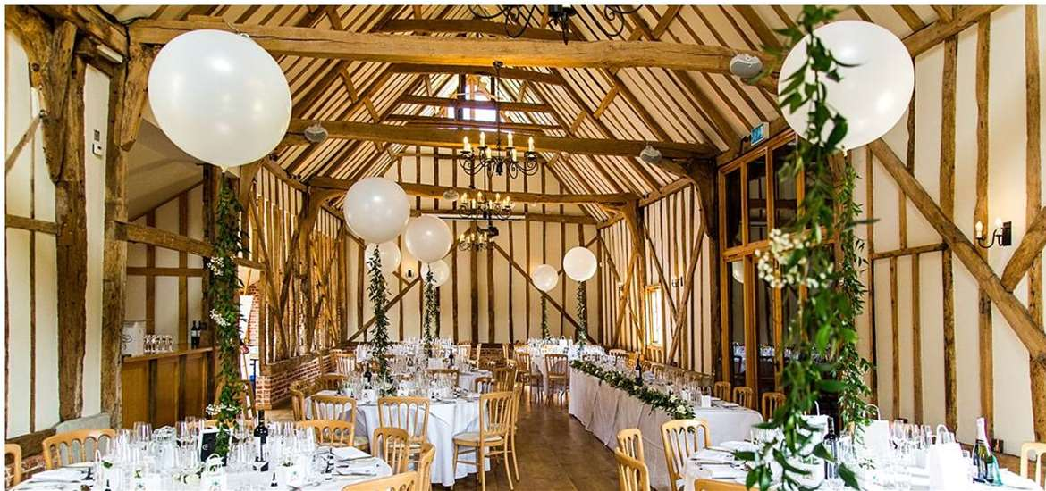Weddings - Bruisyard Hall & Barn - Reception