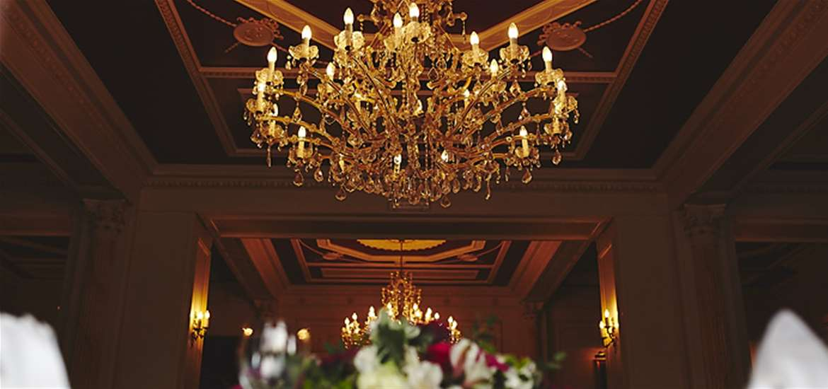 Weddings - The Orwell Hotel - Chandelier