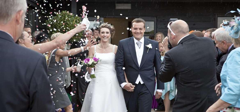Weddings - High Lodge Leisure - Bride & Groom