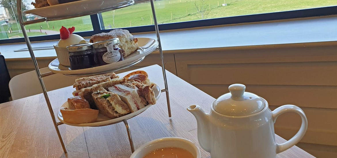 Afternoon Tea at the Cookhouse