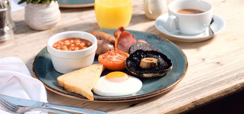 FD - The Westleton Crown - Breakfast