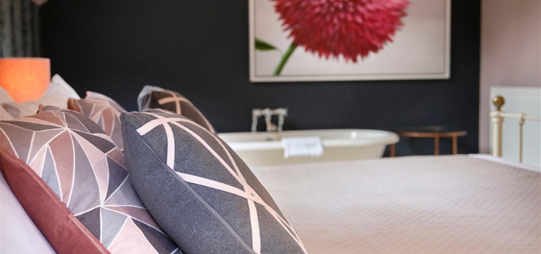 Luxury bedrooms at The Westleton Crown