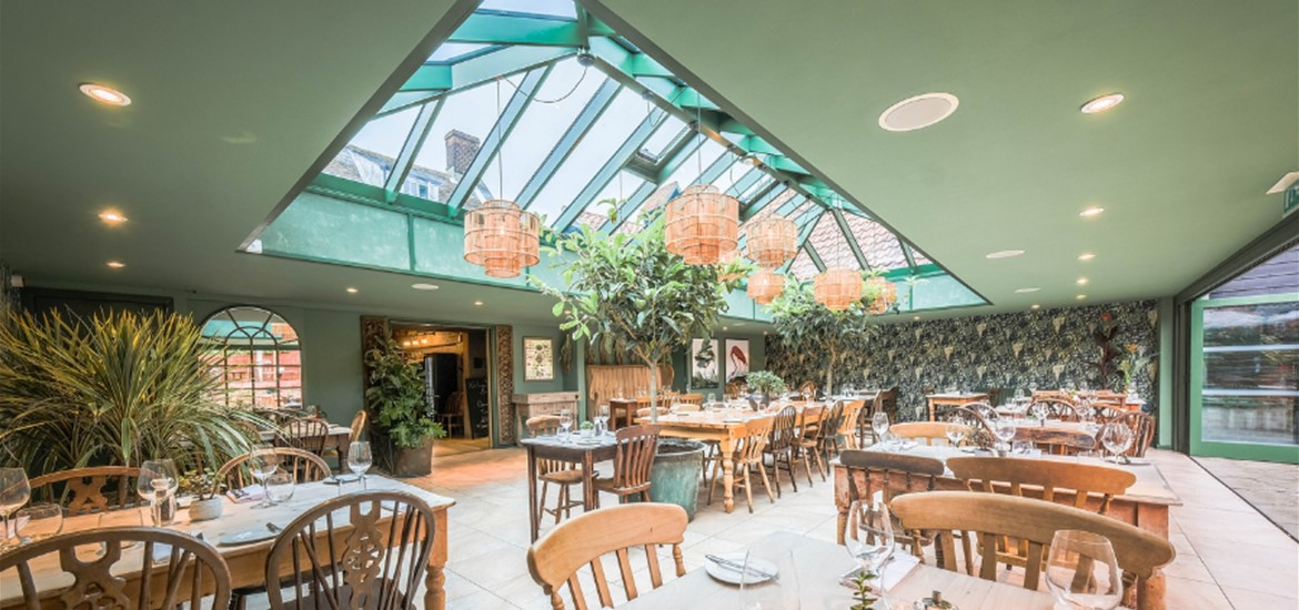 The Garden Room at The Westleton Crown