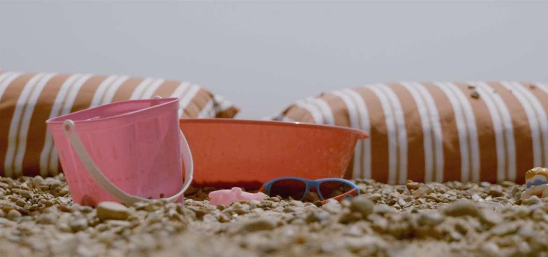 Felixstowe Beach - Buckets and spades