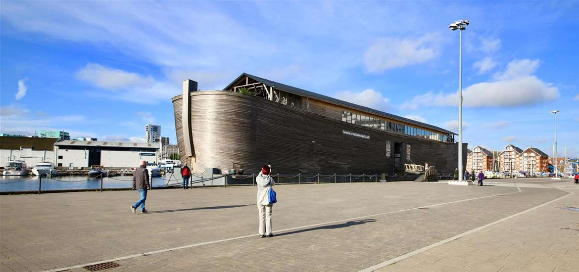 TTDA - Noah's Ark - View in harbour (c) Angela Chalmers Alamy Stock Photo