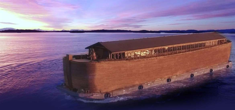 TTDA - Noah's Ark - Drone Footage