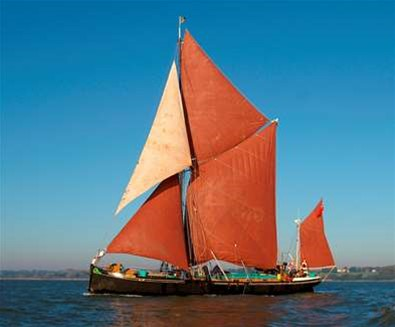 Sailing Barge Victor