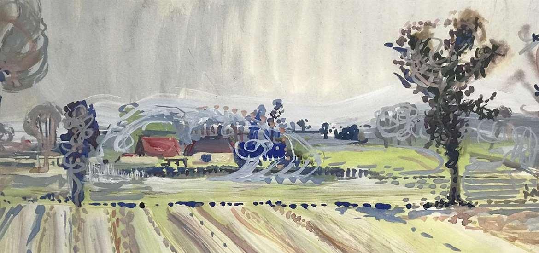 TTDA - Rowe & Williams Gallery -Suffolk in Spring, c. 1960s. Audrey Pilkington