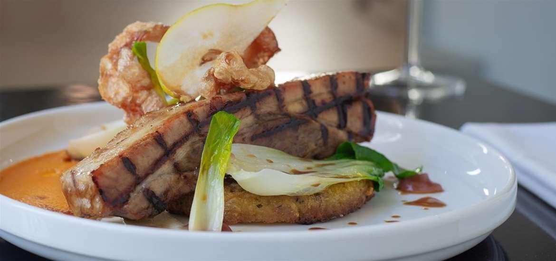 FD - The Crown Woodbridge - Plate of Food