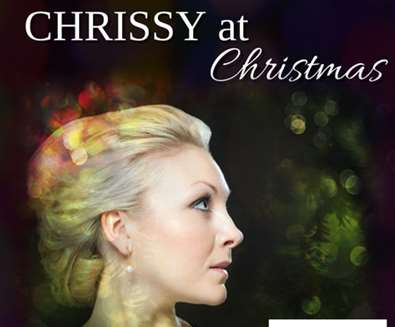 Chrissy at Christmas at  Aldeburgh Parish Church