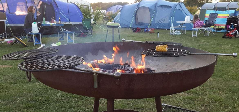 Haw Wood Farm - Fire - Accommodation