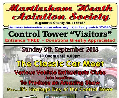 Special Martlesham Heath Control Tower Museum - with Vintage Cars and Vehicles