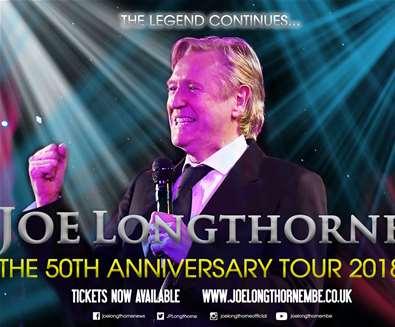 Joe Longthorne at The..