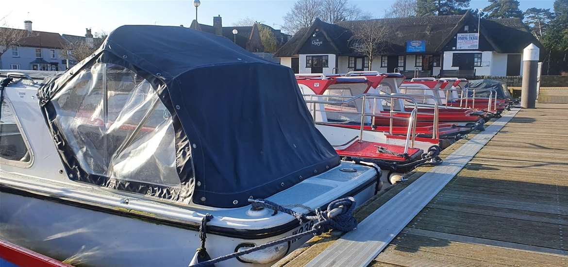 TTDA - Oulton  Day boats - boats moored