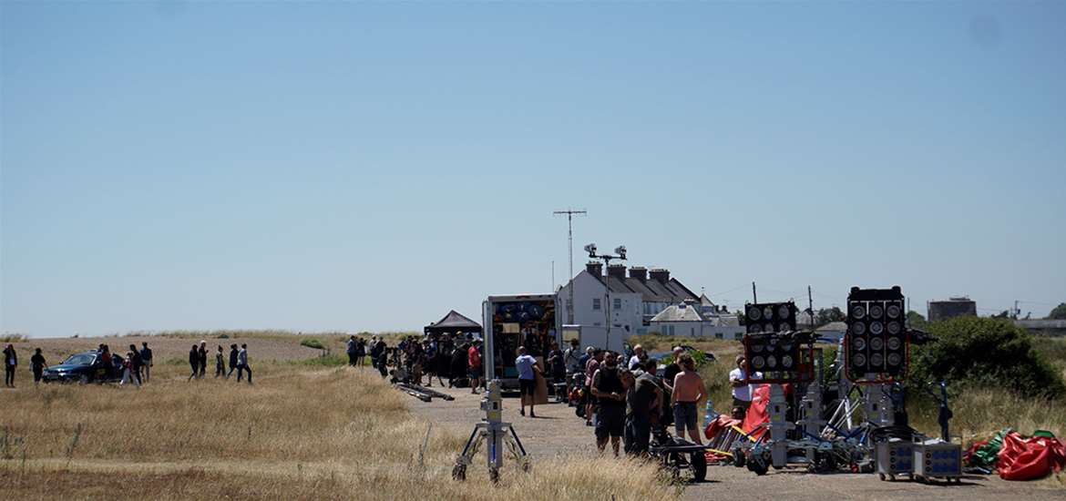 TTDA - Screen Suffolk - Filming on Shingle Street