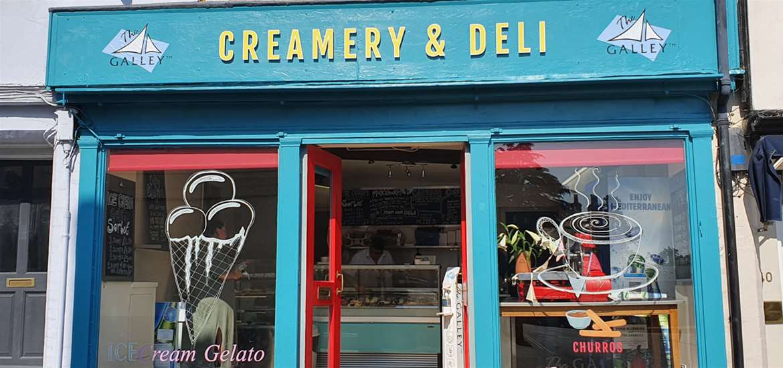 FD The Galley Creamery and Deli - Exterior