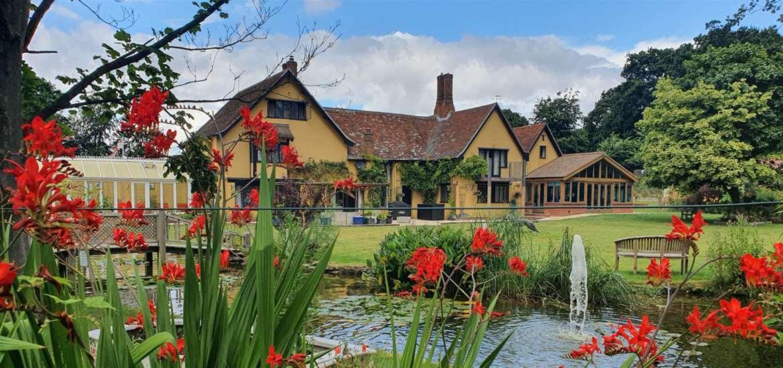 Potton Hall grounds and house