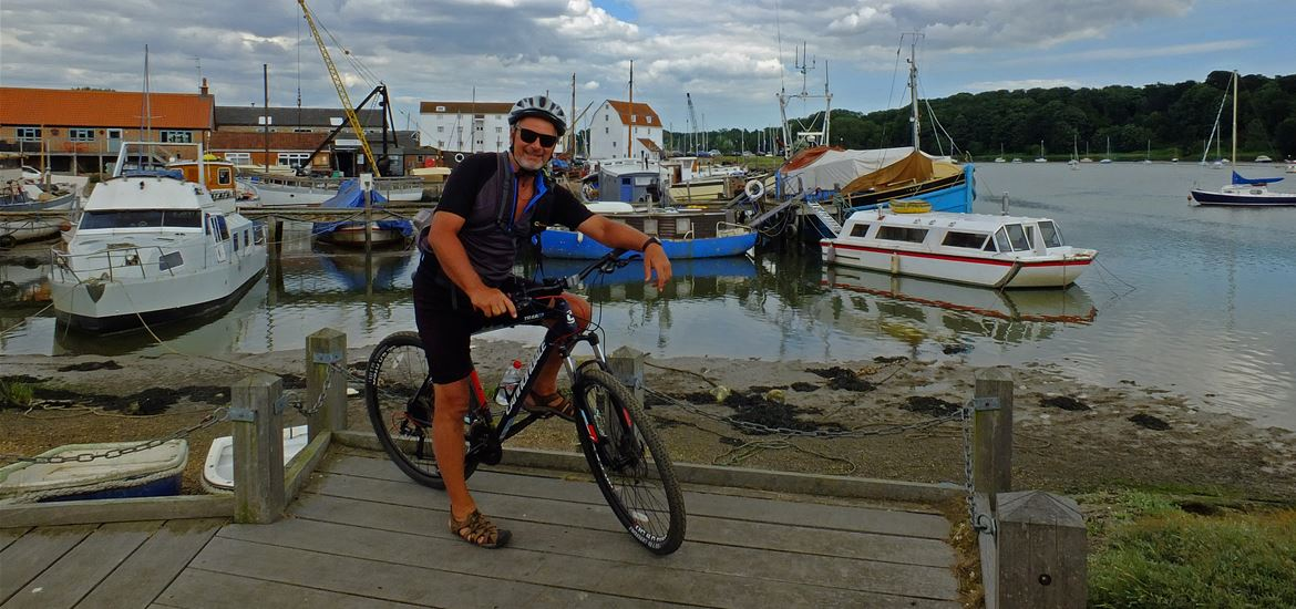 Felixstowe to Woodbridge Cycle Route - Stephen Squirrell