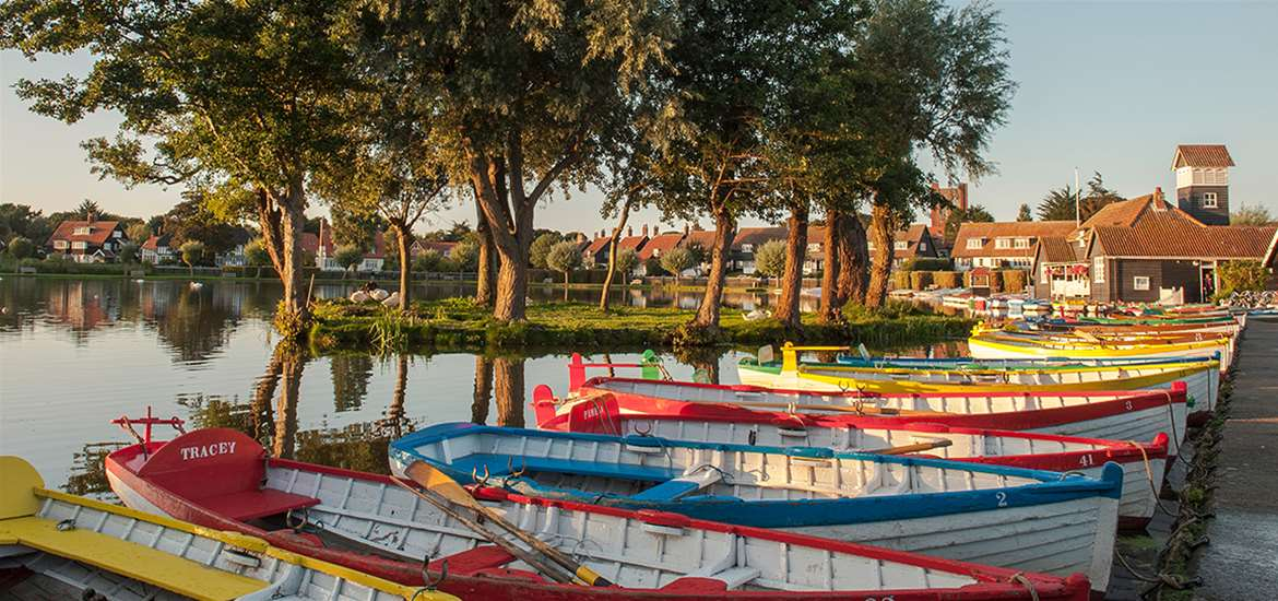 Thorpeness Meare in Summer - (c) Gill Moon Photography